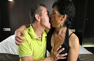 This mature couple love it abiding and long