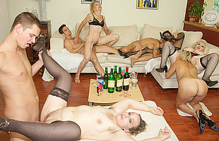 A jugs and kinky adult sexparty