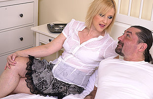 Horny housewifewife fucking with her man