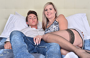 Mature and boy hd