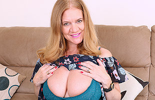 Big breasted British housewife object very vitiated
