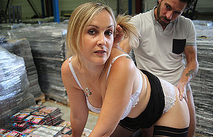 Sexy French Milf is fucked in her pussy plus prevalent her ass